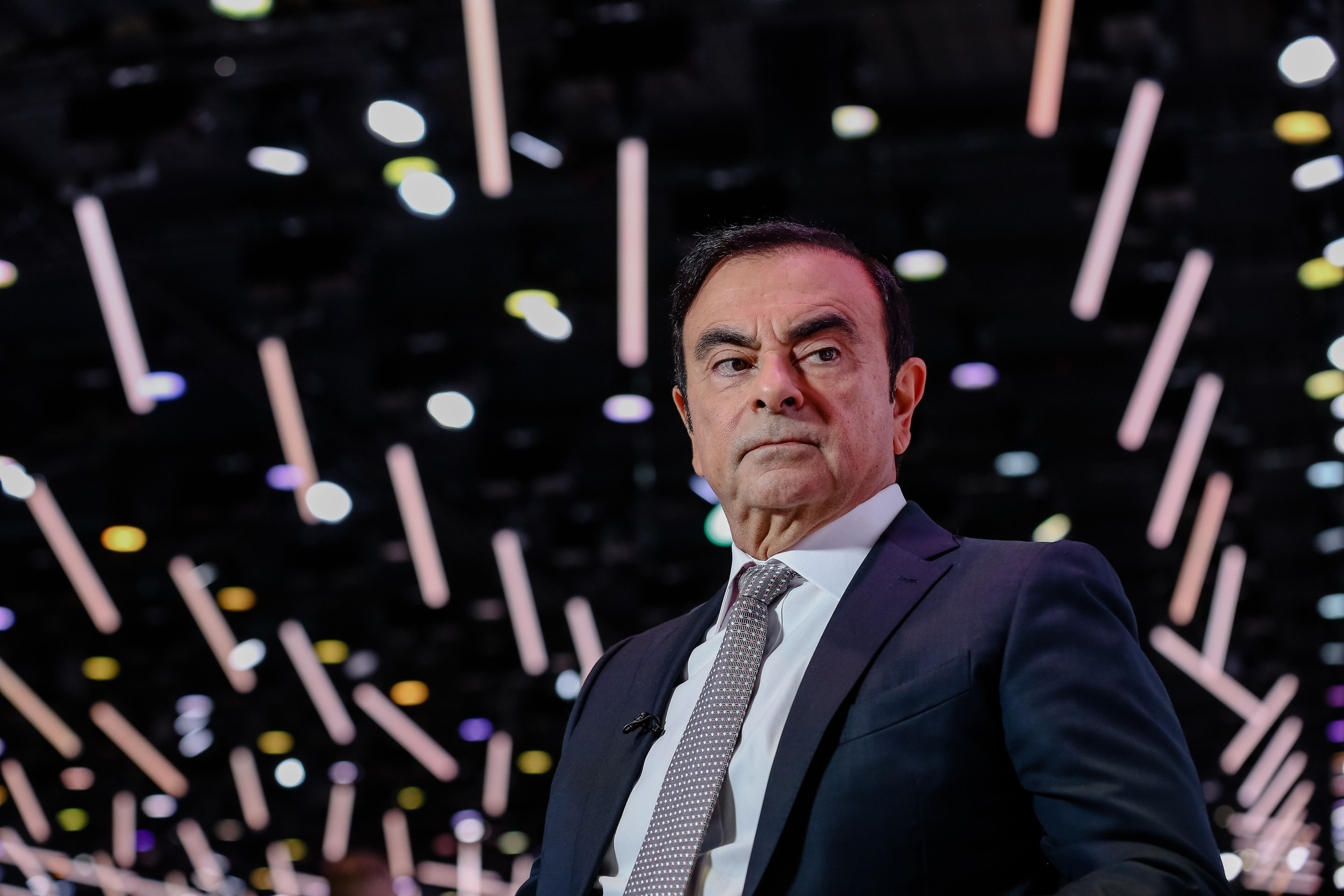 Carlos Ghosn HasTales to Tell and Scores to Settle