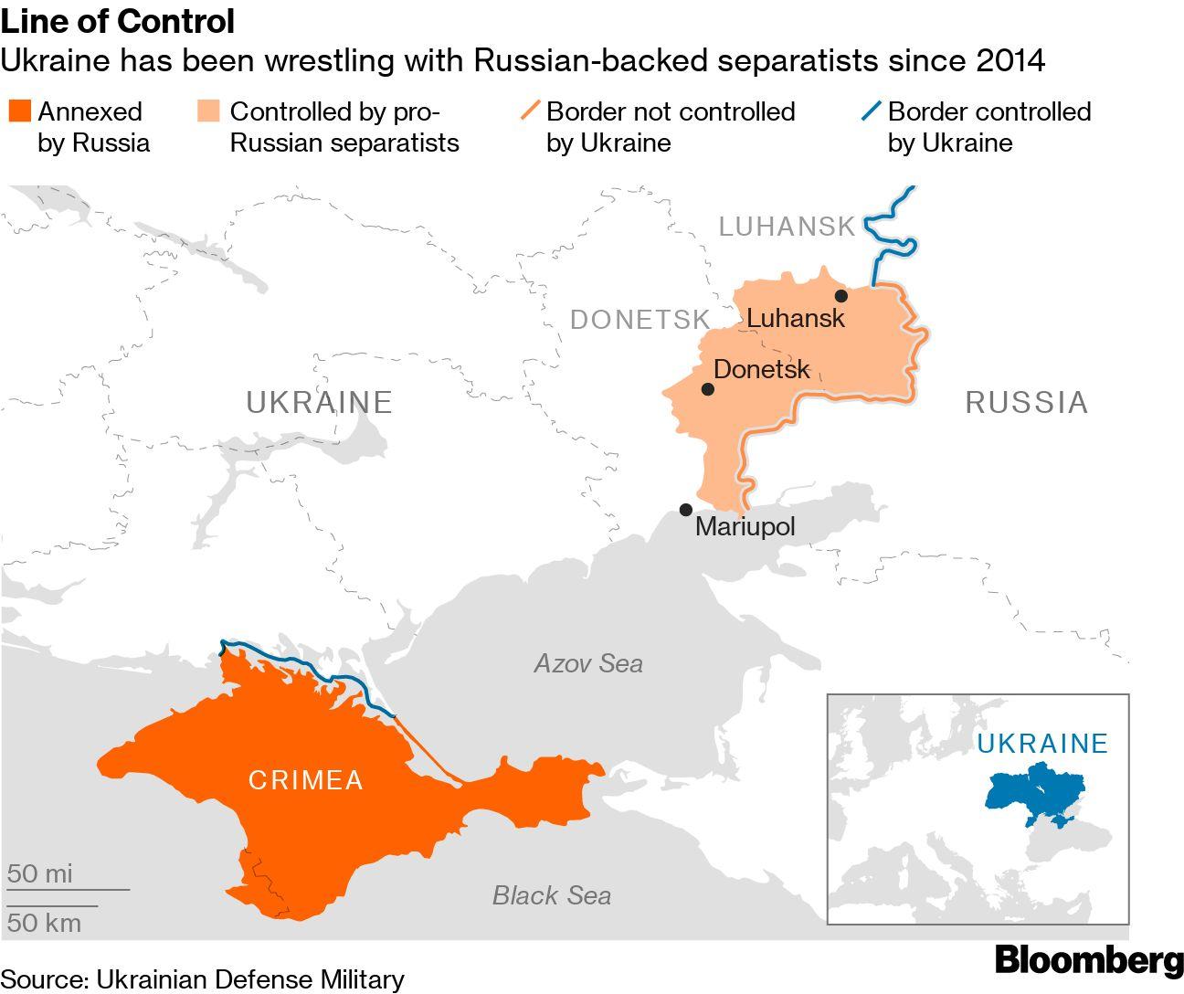 Ukraine, Rebels Complete Prisoner Swap Under Deal With Putin