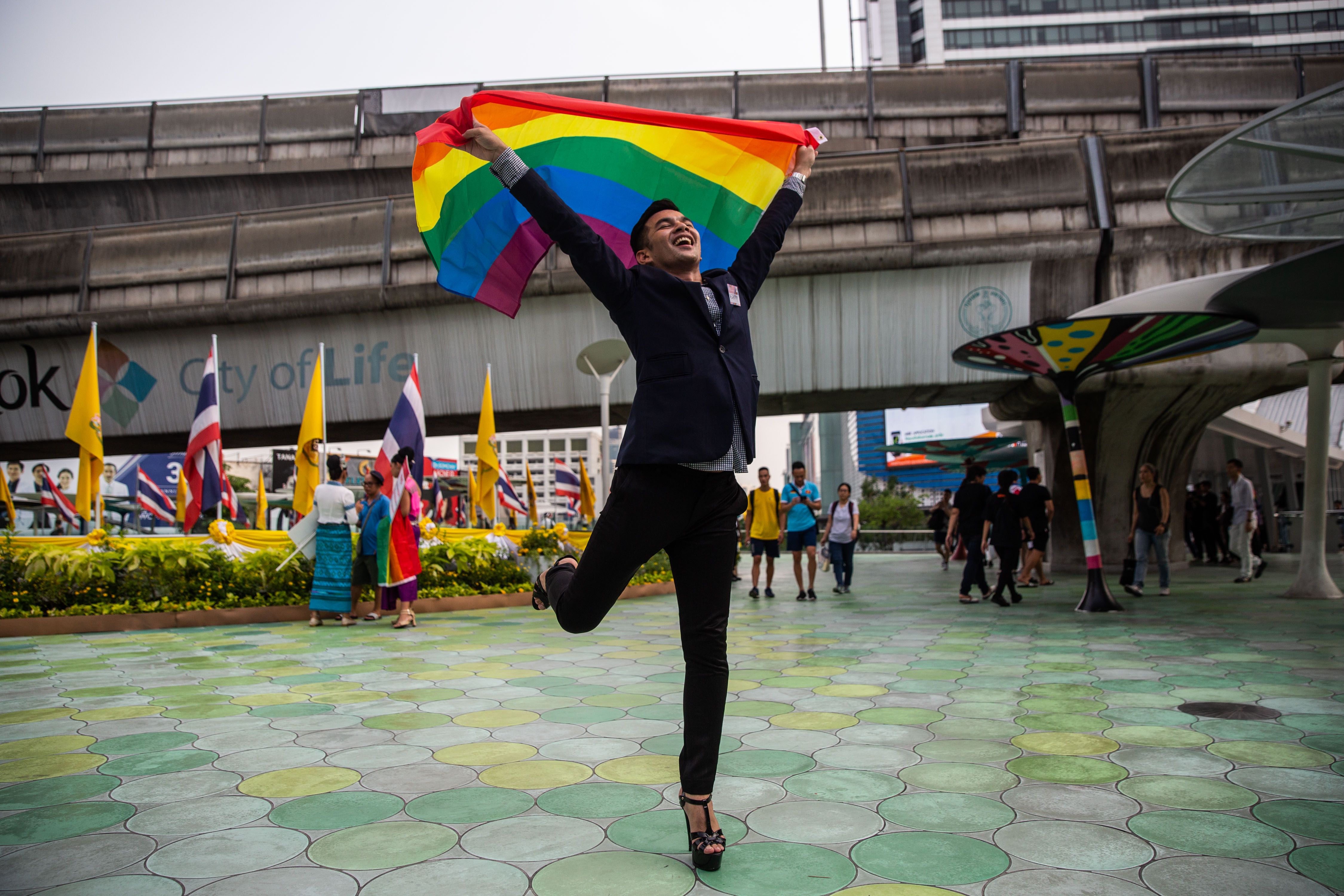 Thailand May Be First in Southeast Asia to Allow Same-Sex Unions