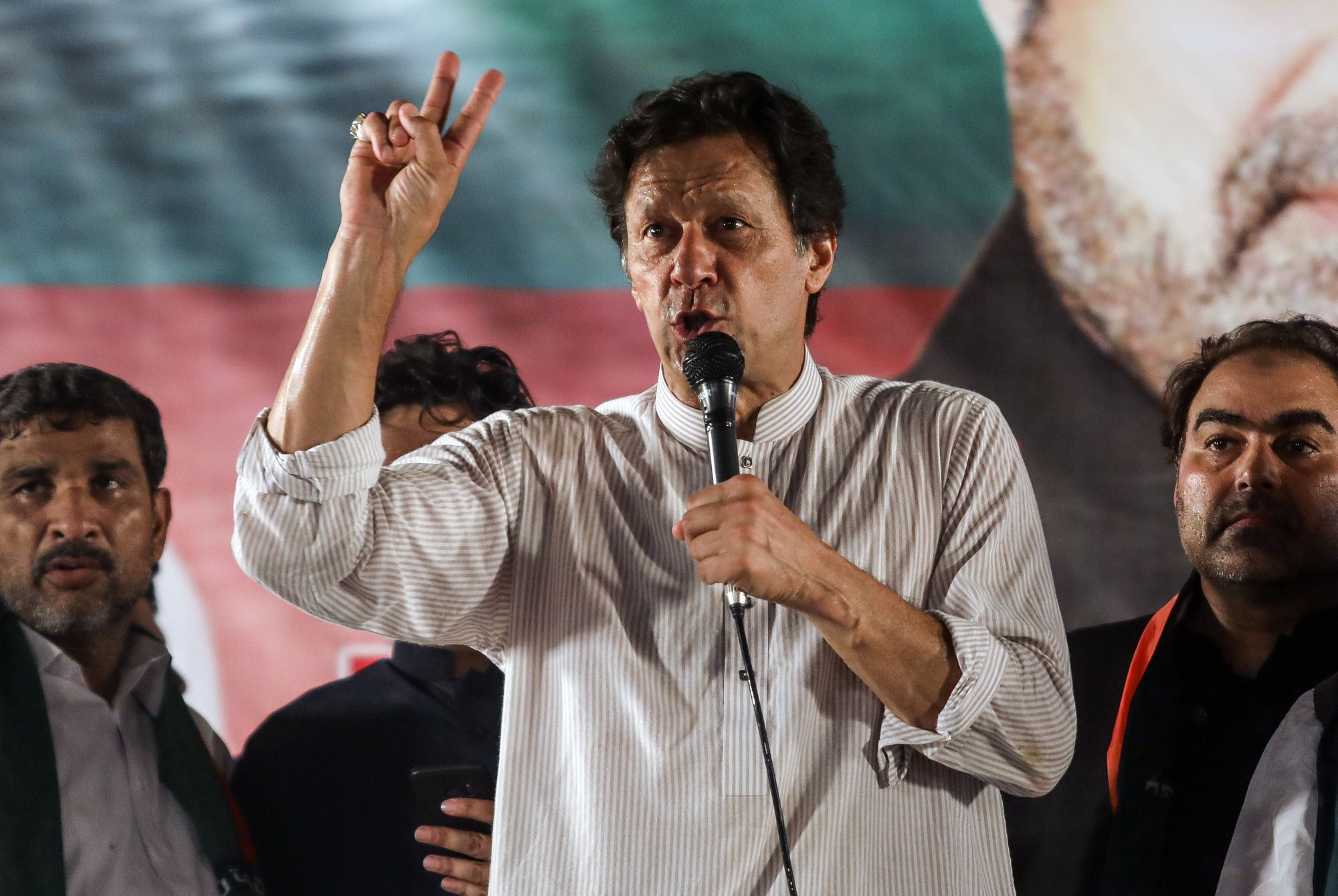 Pakistan's Leader Imran Khan Has $684,000 in Assets. And Four Goats