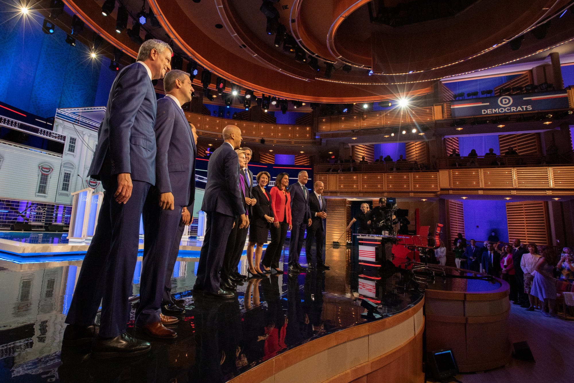 Debate Exposes Split Among 2020 Democrats on Direction for Party
