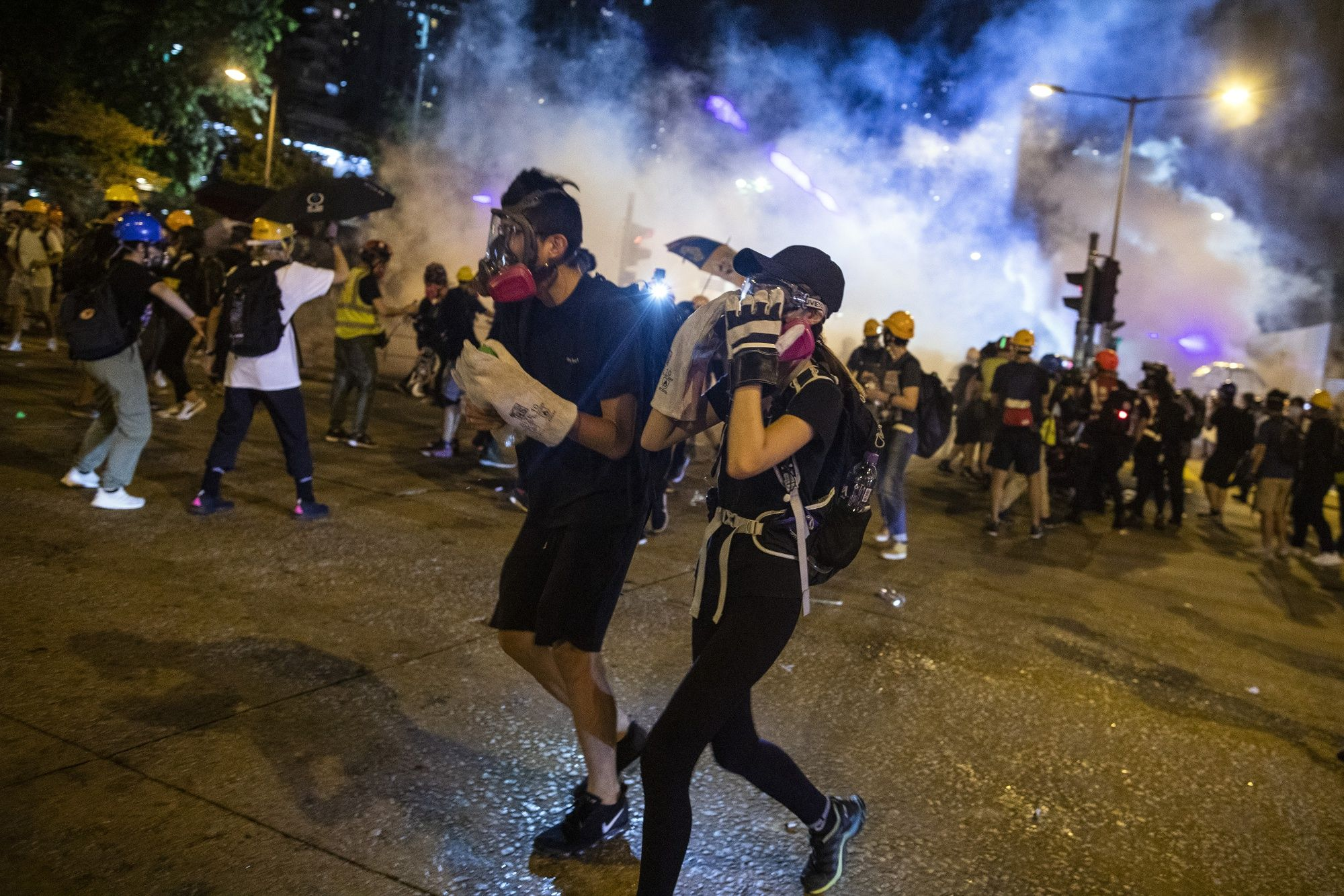 Riot Police Break Up Causeway Bay Protest: Hong Kong Update
