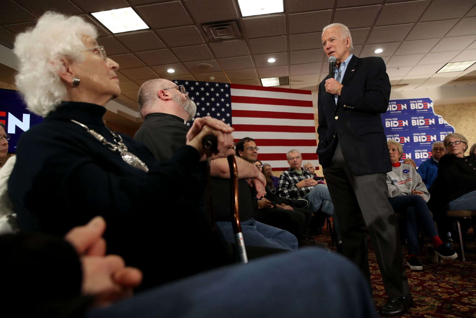 Biden Hopes for Strong Finish But Warns of Long Primary Fight