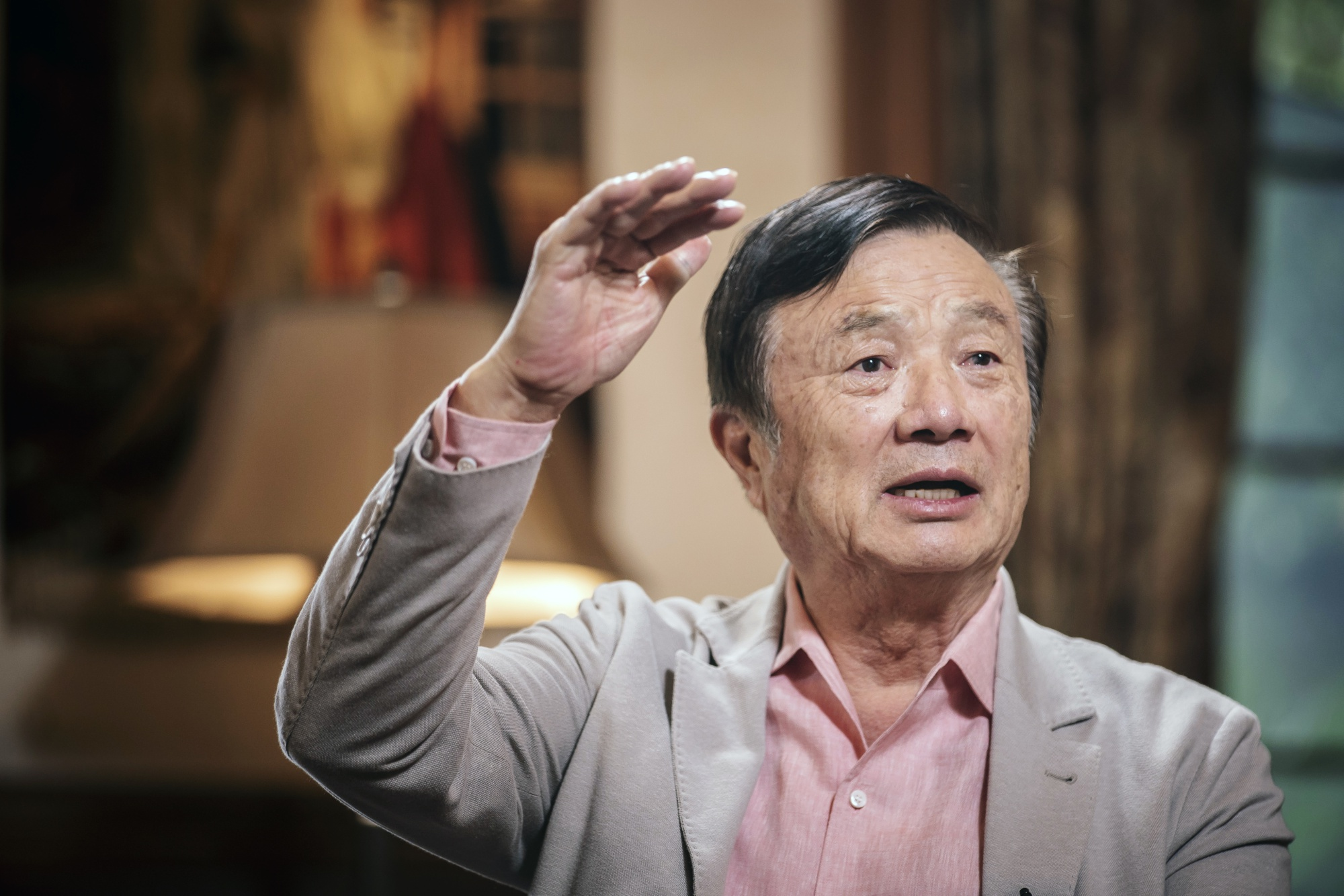 Huawei's Founder Wants an 'Invincible Iron Army' to Fight U.S