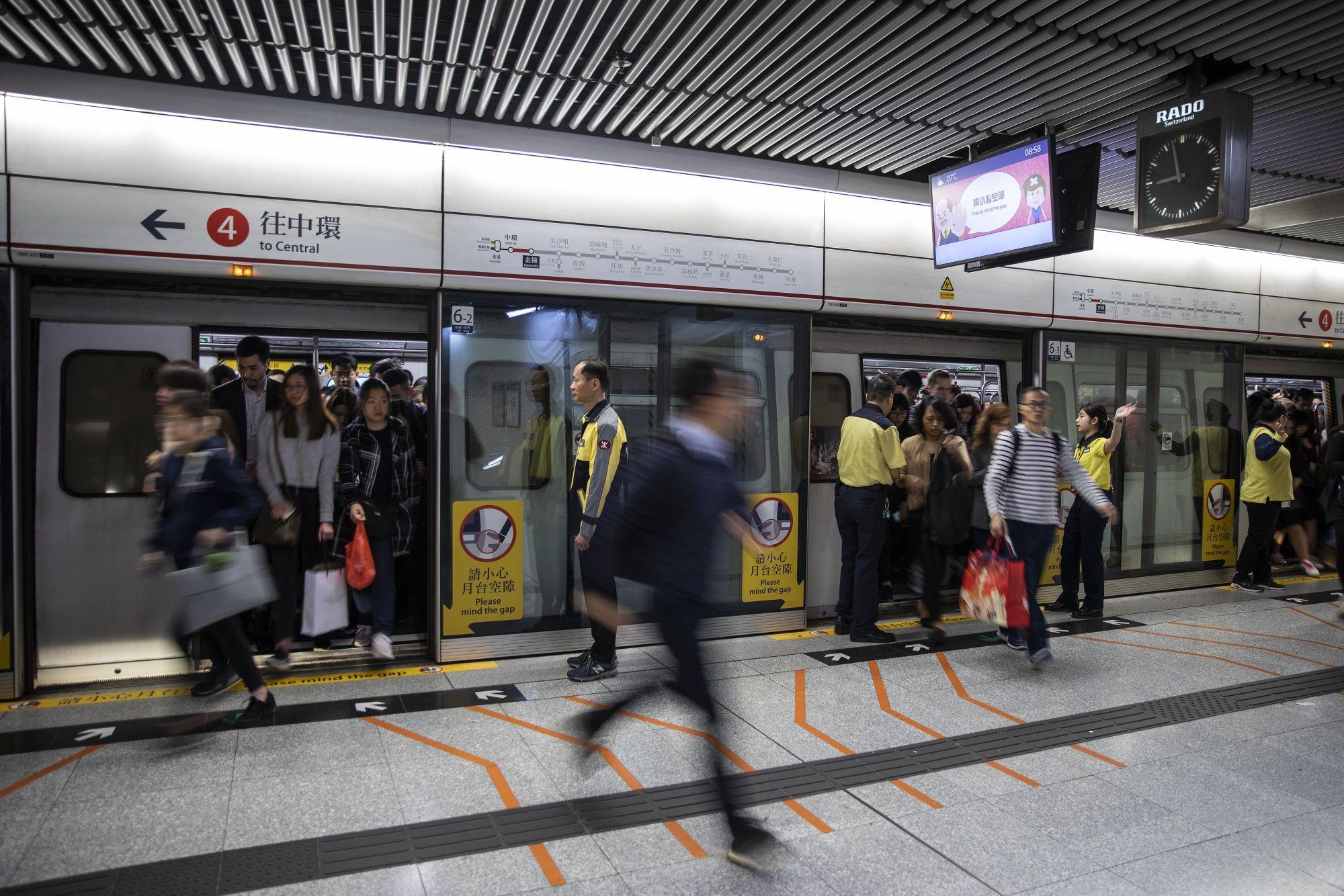 Hong Kong Train Disruptions Show Protests Becoming Daily Affair