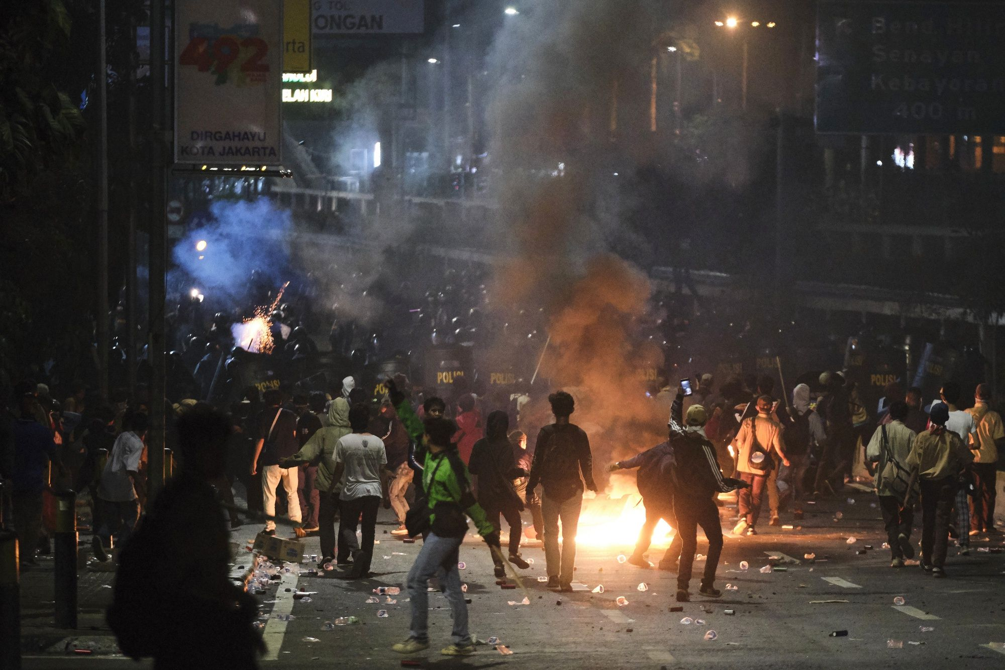 Violent Protests in Indonesia Signal Tough Road Ahead for Jokowi