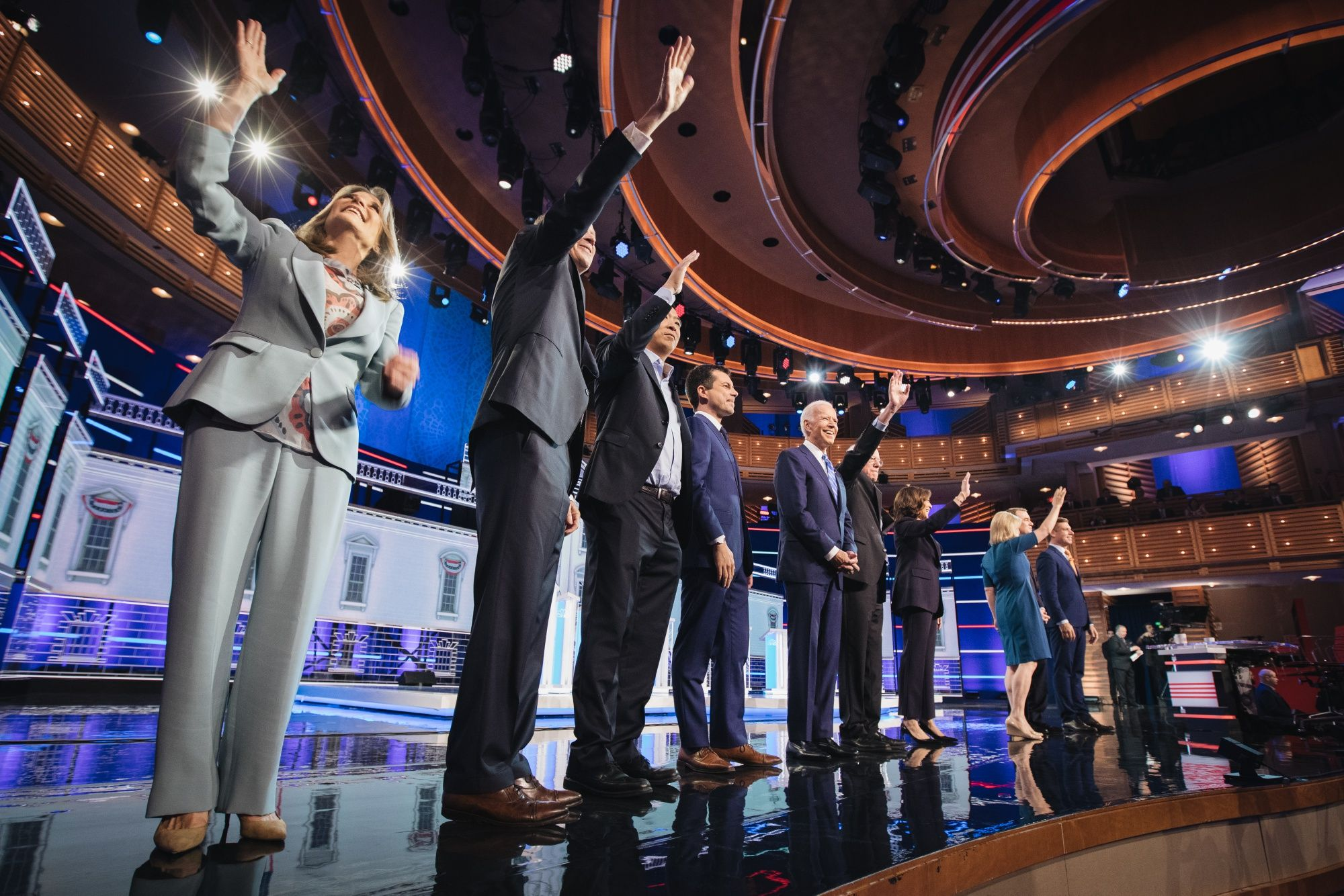 Debate Takeaways: Harris Soars, Biden Stumbles, Buttigieg Scores
