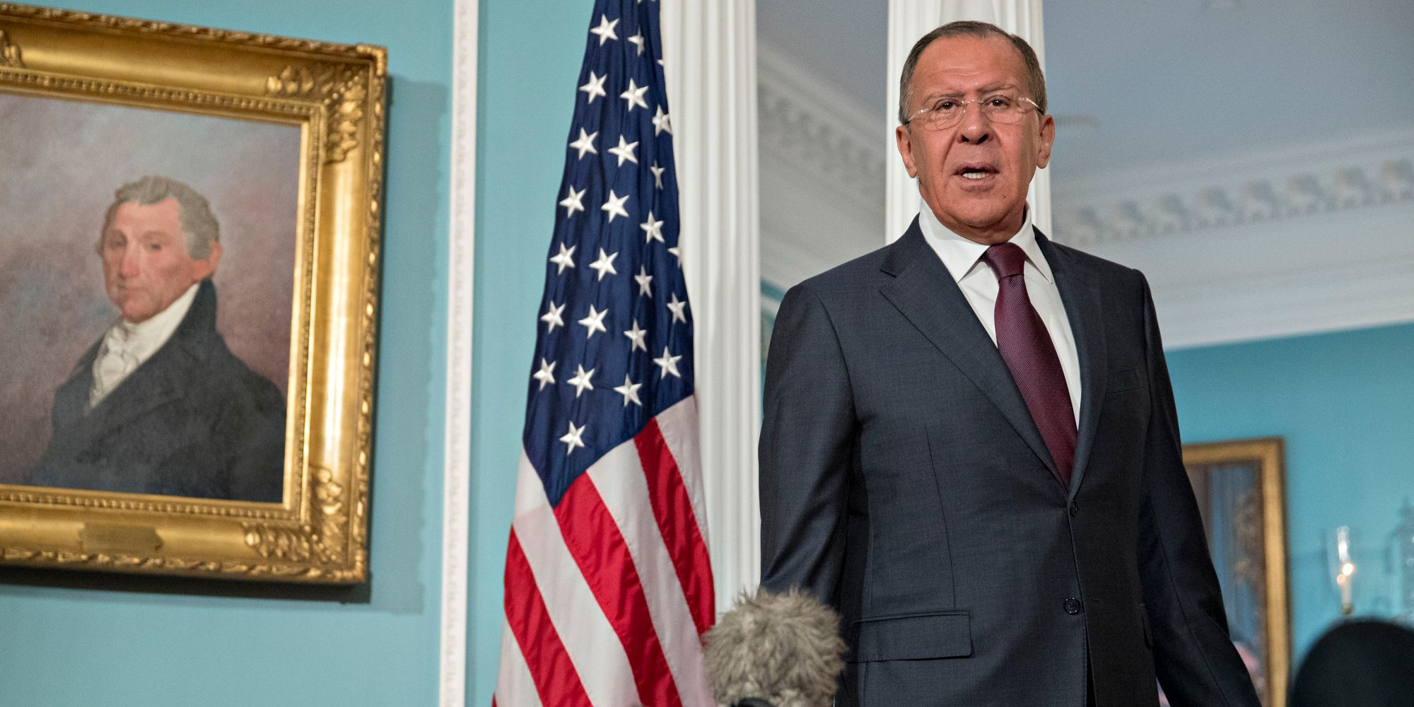 Trump to Meet Russian Envoy Lavrov During Washington Visit
