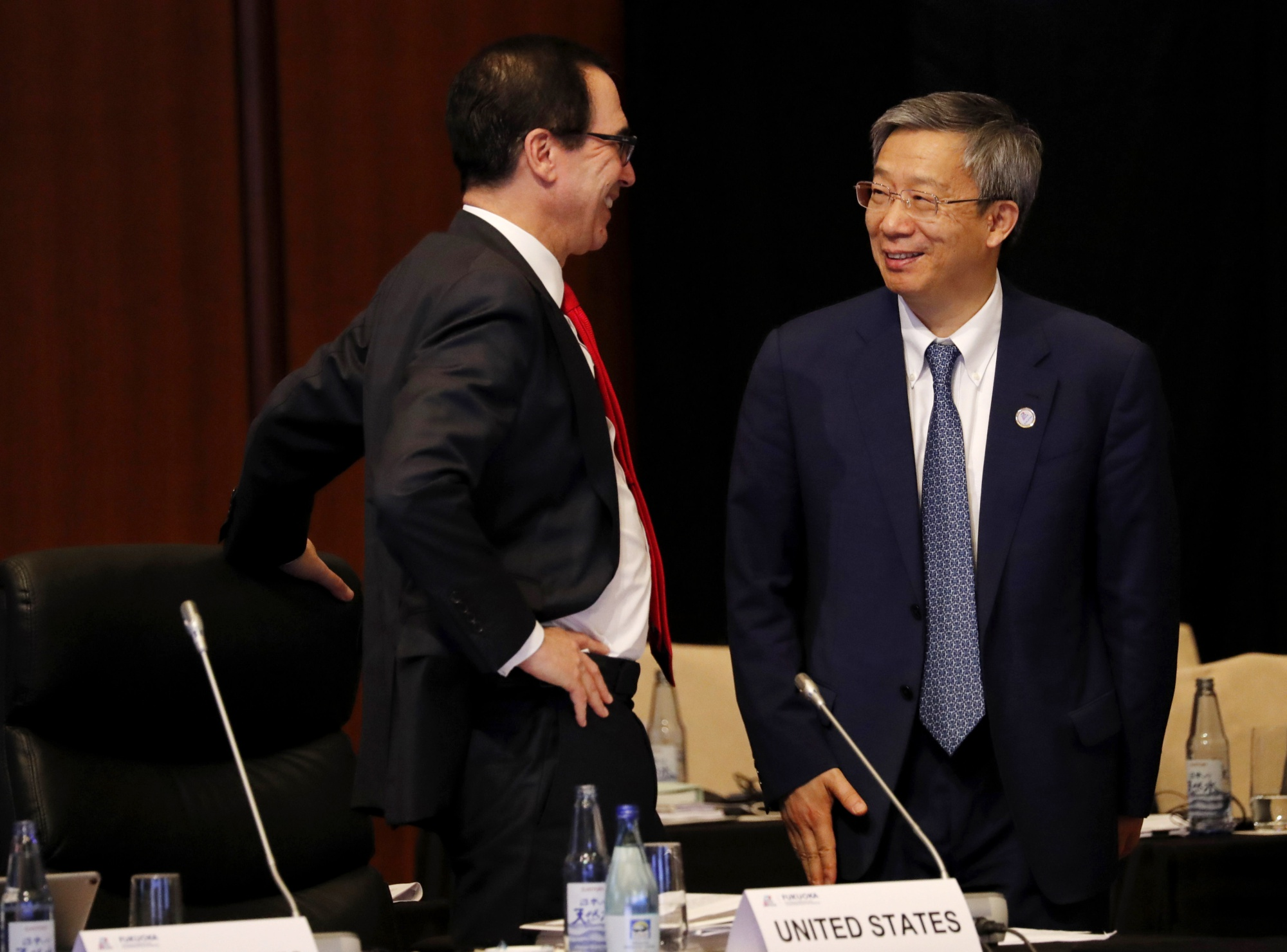 Mnuchin Says China Trade Meeting Will Happen But Won't Say When