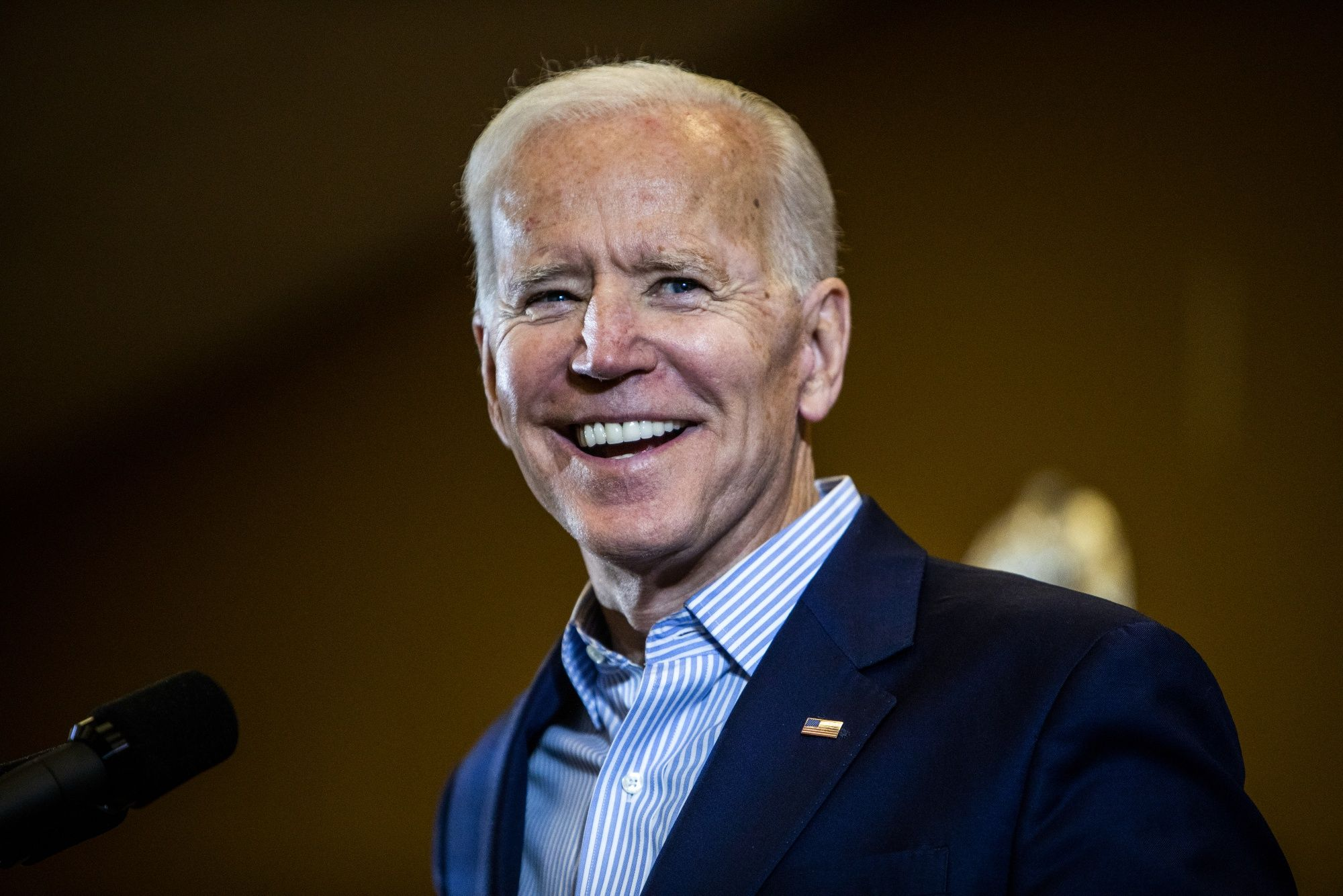 Biden Leads Democratic Field in Poll of Iowa Caucus Goers