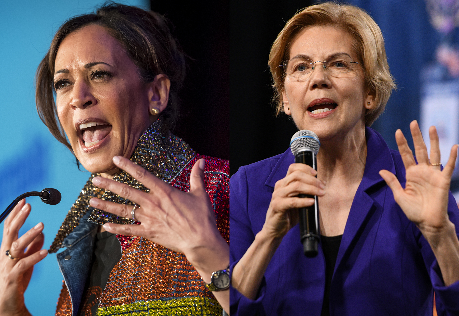 Two Women Surge inRace to Take on Trump