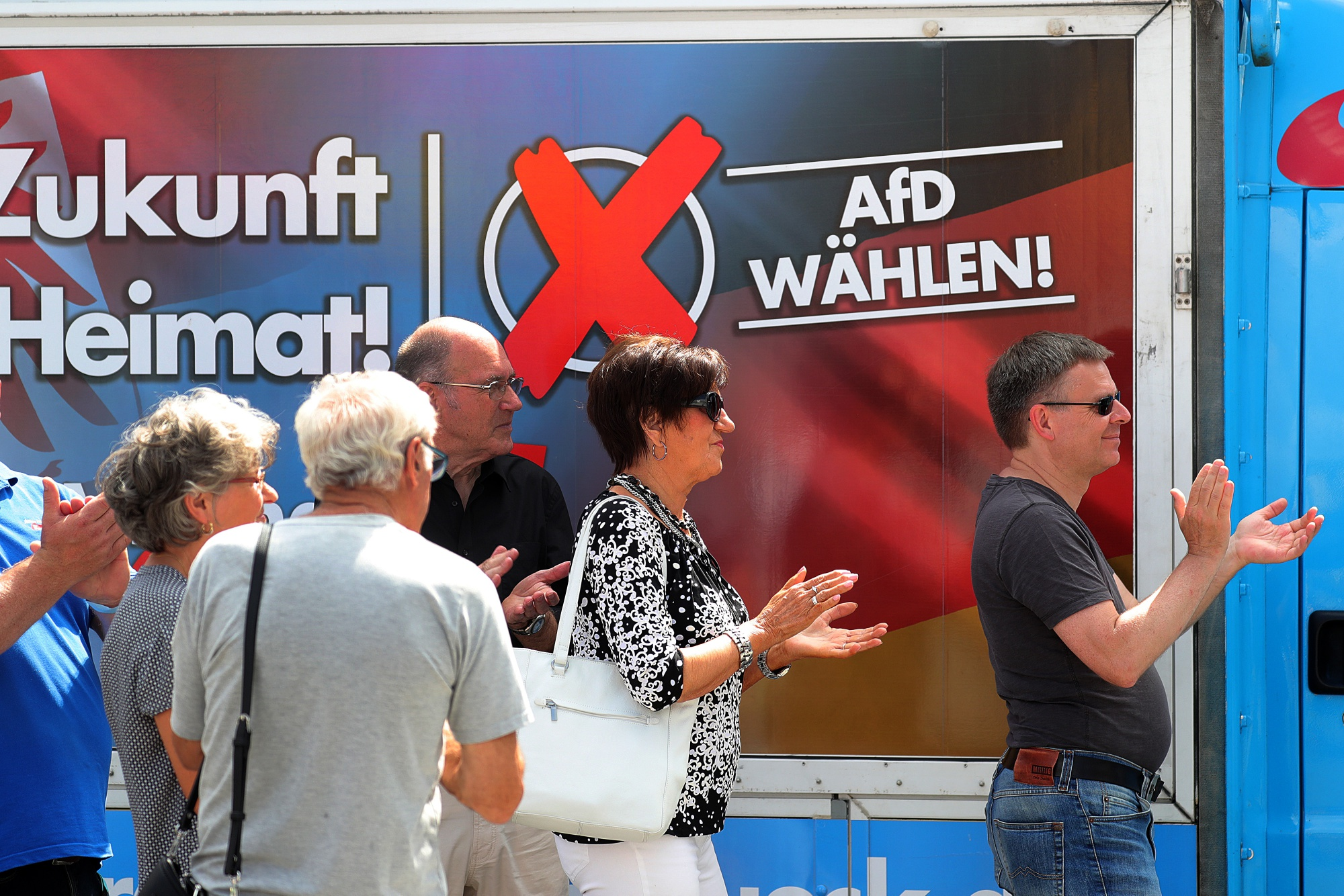 Far-Right Vies for Lead in German Regional Election, Poll Shows