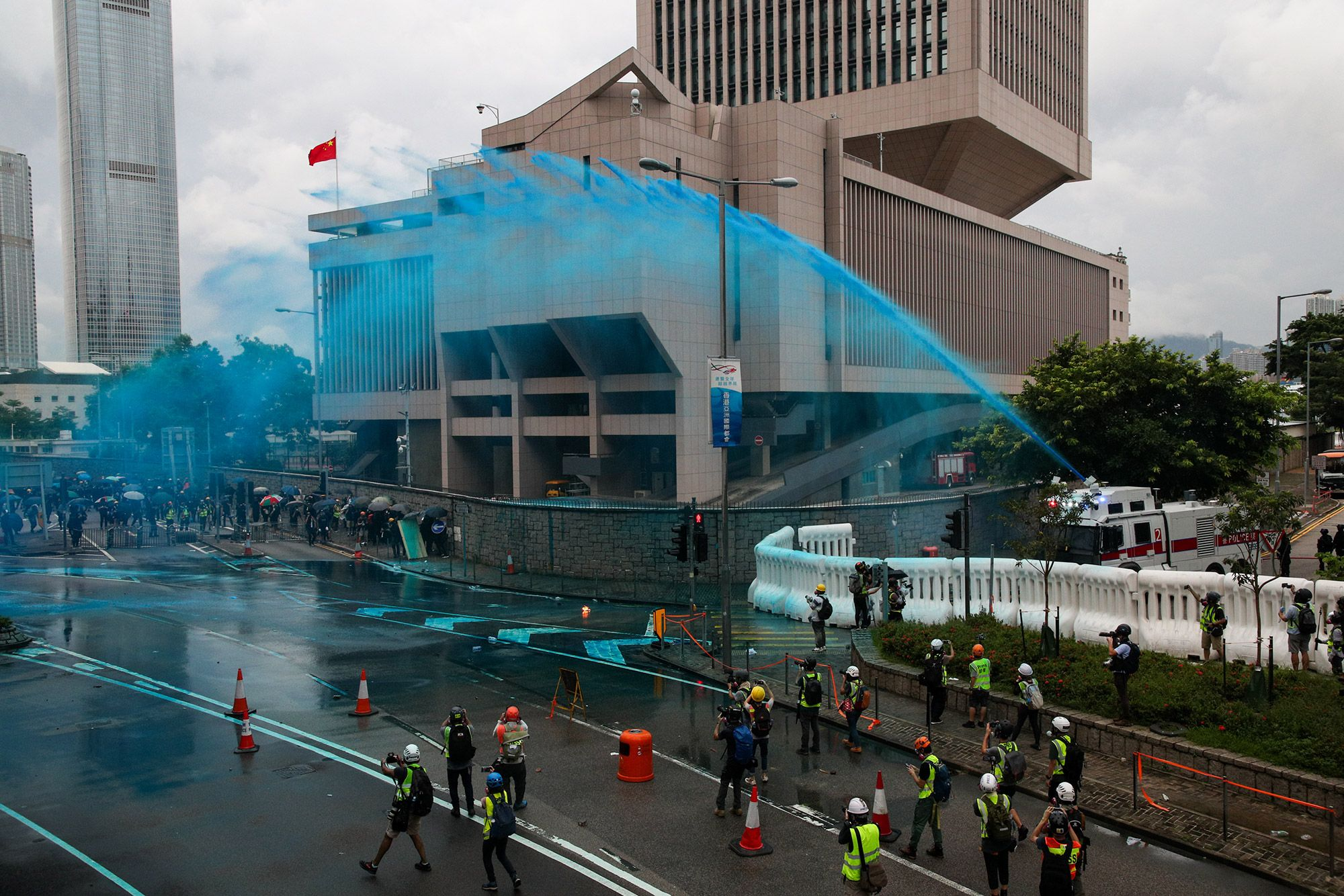 Tear Gas, Petrol Bombs and Barricade Bonfires: Hong Kong Update