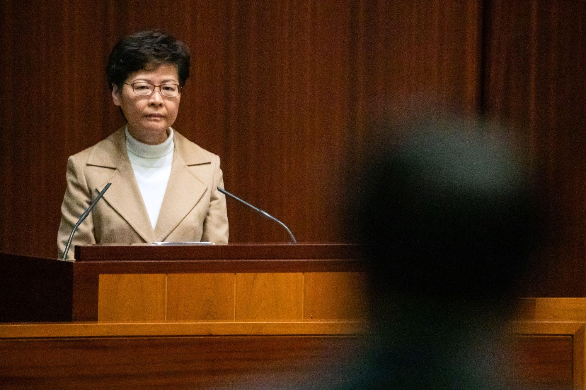 Hong Kong LeaderSays China Could Treat City the Same After 2047
