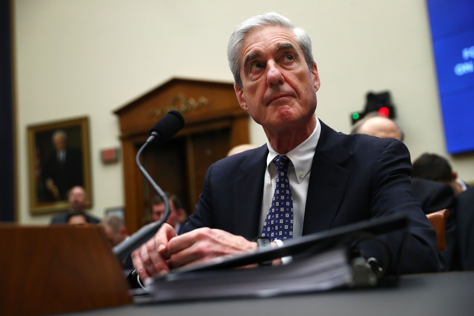 Democrats Raise Impeaching Trump in Suit for Muellers Evidence