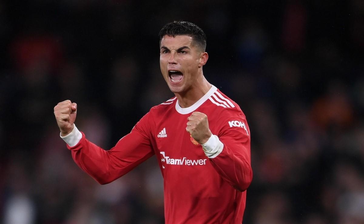 Champions League: Cristiano Ronaldo volvió a salvar a Manchester United con un gol sobre la hora