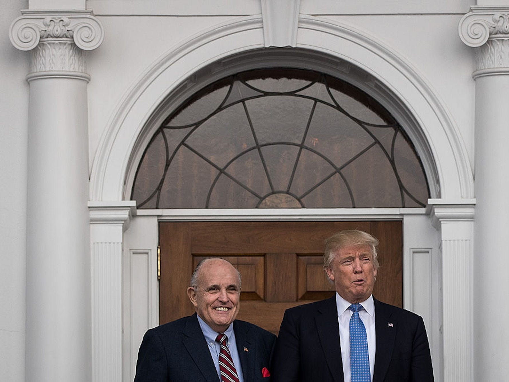 Trump shrugged and said thats Rudy when warned Giuliani was being targeted by Russian agents with disinformation, report says