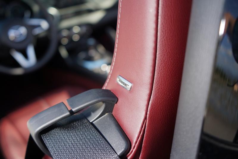 高檔的Bose音響為MX-5的標準配備
