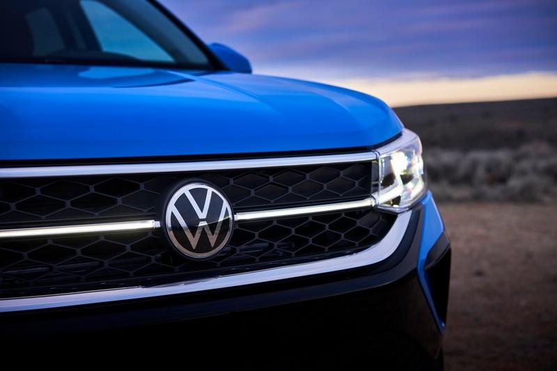 Volkswagen Taos造型有著新世代家族風格。