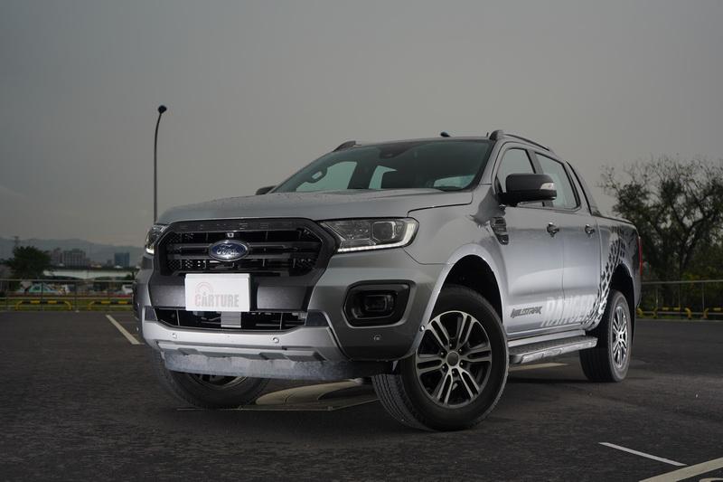 Ford Ranger運動型是該車型的頂規版本,強悍粗曠的外觀依舊是它的最大特徵