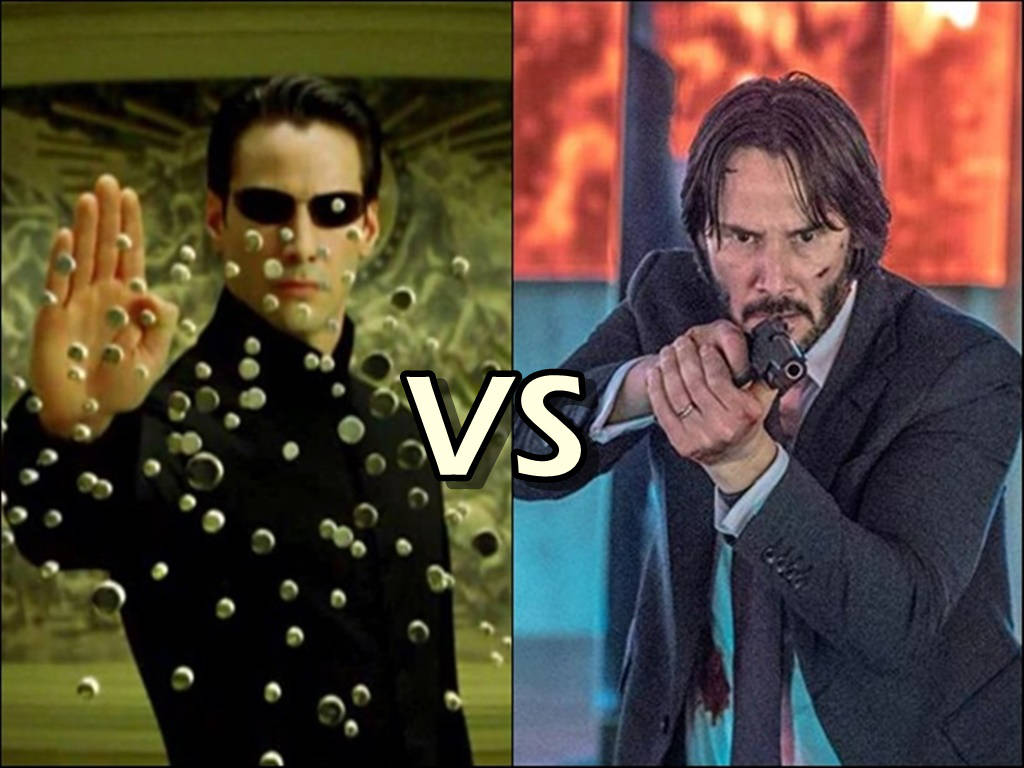 "Keanu Reeves ""Matrix 4"" will go up against his own ""John Wick 4"" in cinemas in 2021."