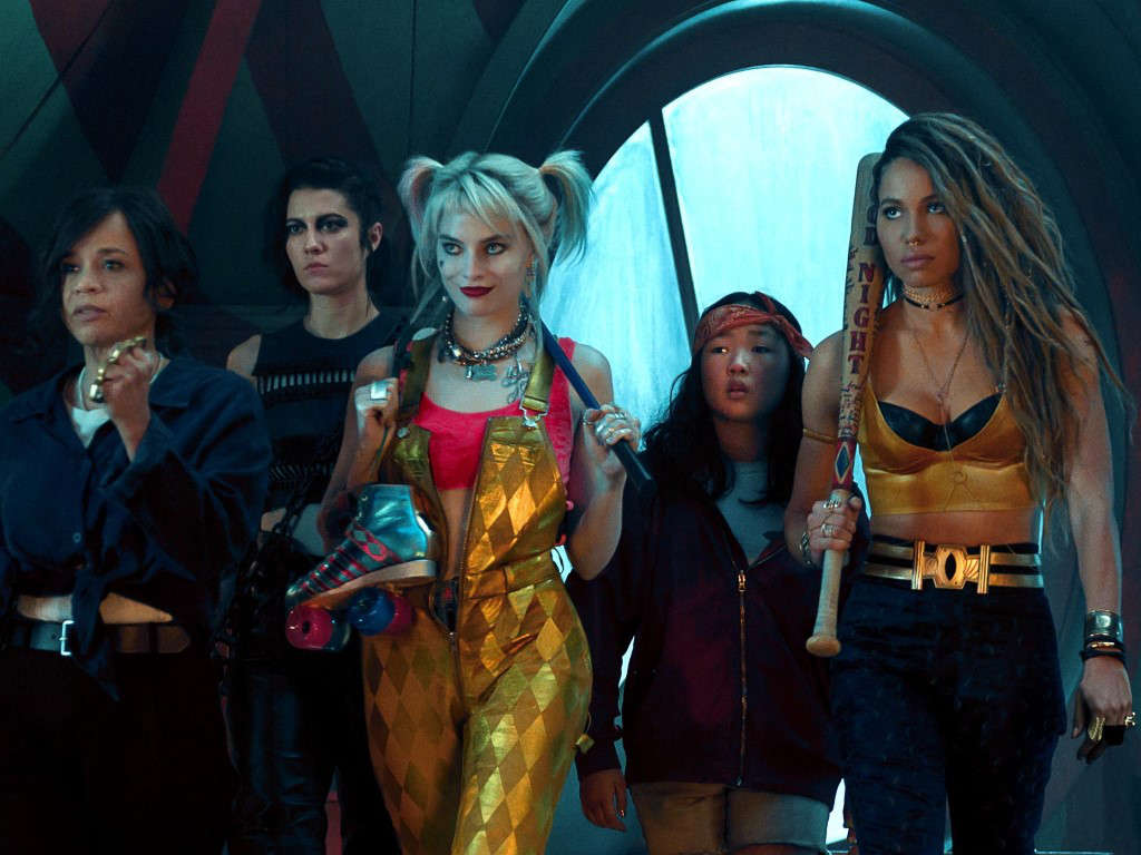 "Harley Quinn and her posse in ""Birds Of Prey: And The Fantabulous Emancipation""."