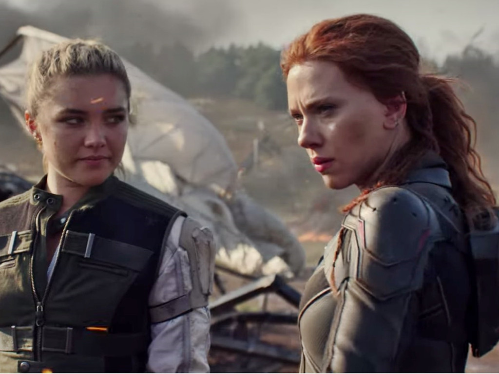 """Looks like it'll be some time before fans get to see the Florence Pugh-Scarlett Johansson team up in """"Black Widow""""."""
