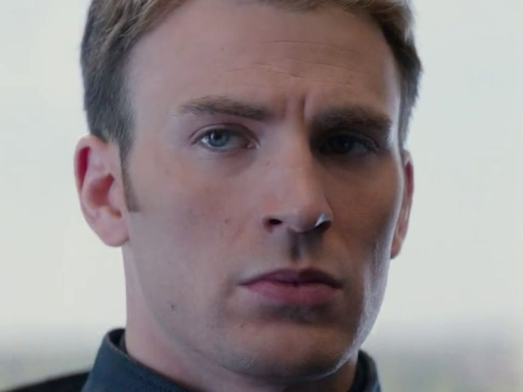 Chris Evans is not amused by James Dean's CGI casting.