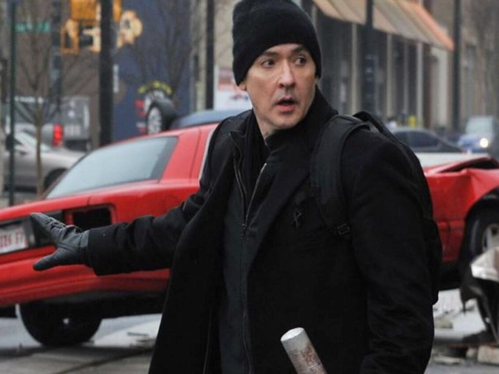 John Cusack shares on Twitter clips of his attack.