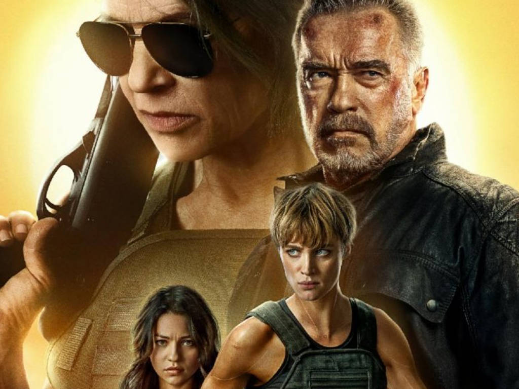 """Terminator: Dark Fate"" is out in cinemas!"