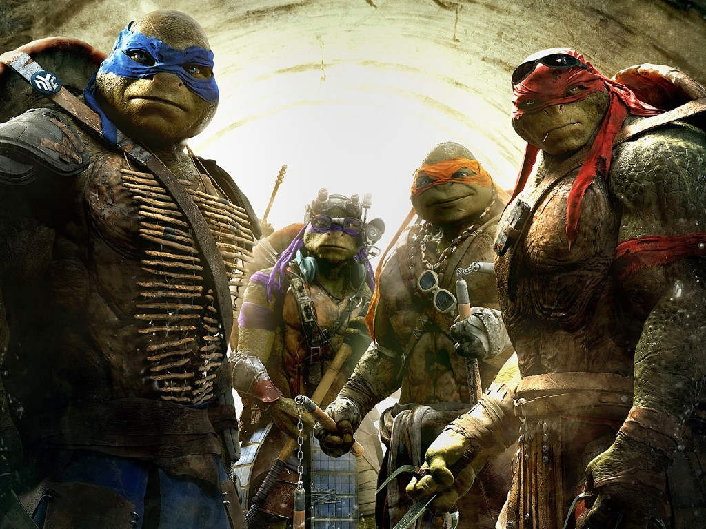 The last time the Ninja Turtles were seen on the big screen was in the Michael Bay-produced live-action series.