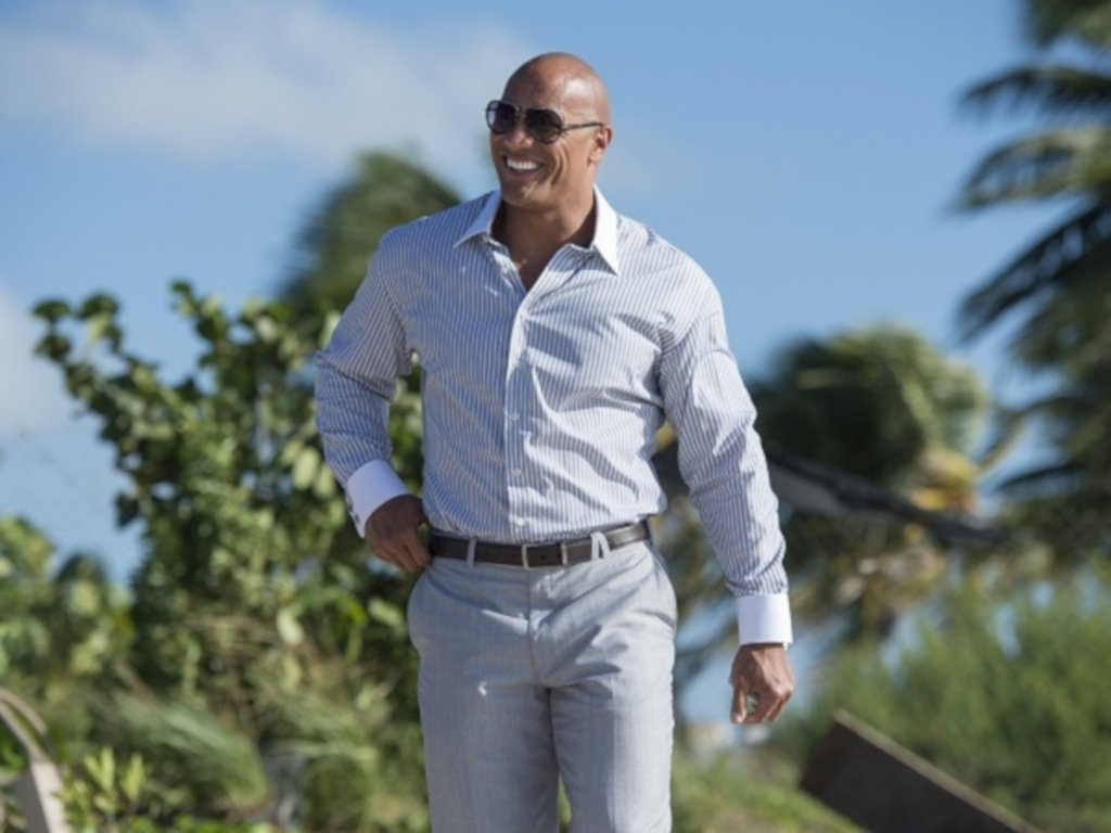 Dwayne Johnson continues to be a baller in Hollywood.