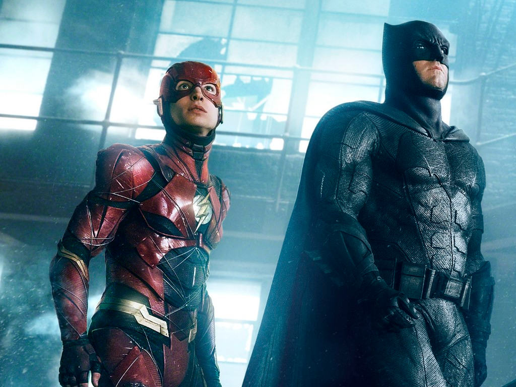 Ezra Miller's The Flash will be reuniting with Batfleck (and another Batman!) in the speedster's 2022 solo vehicle.