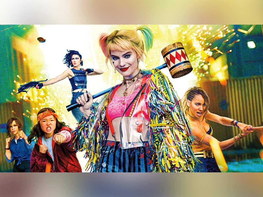 "Harley Quinn (Margot Robbie) and her gang in ""Birds Of Prey""."
