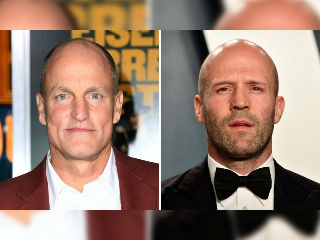 "Woody Harrelson (L) will star as the titular assassin in ""Man from Toronto"" since Jason Statham (R) has vacated the role."