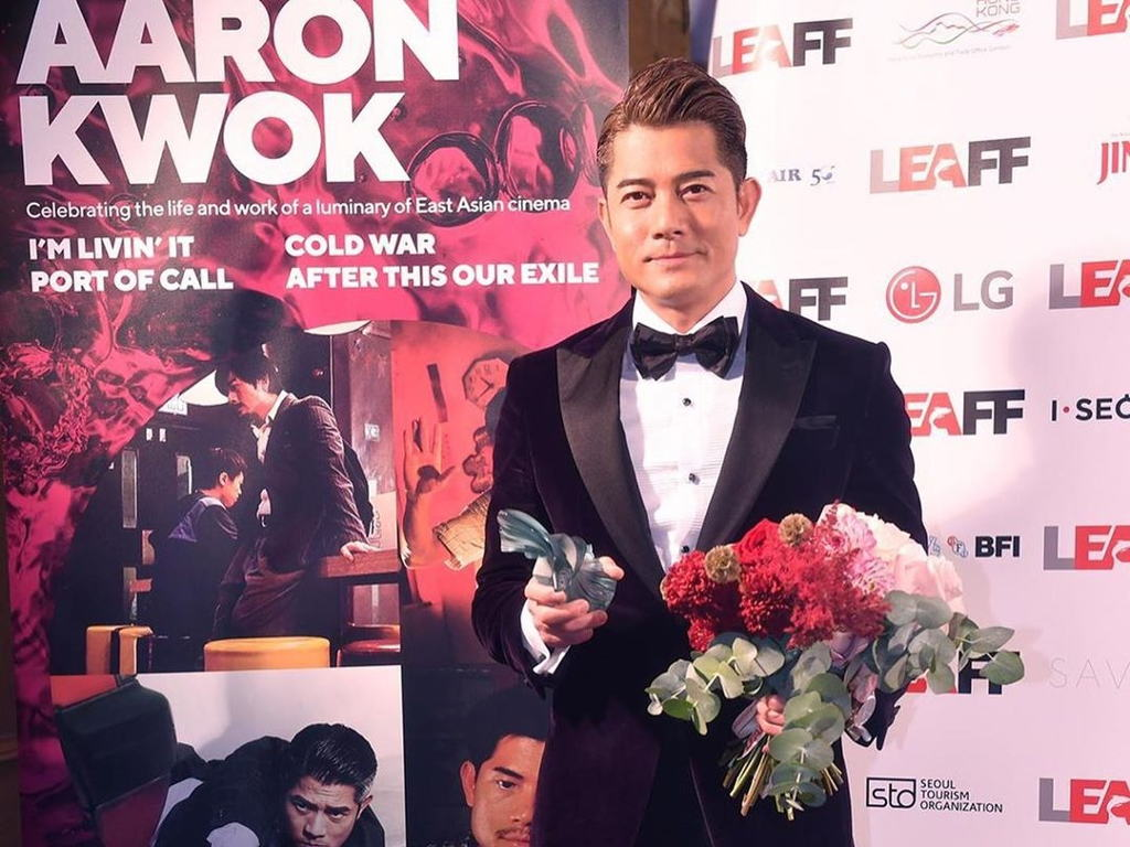 """Aaron Kwok won Best Actor for his role in """"I'm Livin' It""""."""