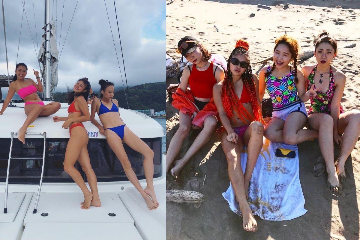 號召姊妹一起來曬曬、成為今夏最火辣、自信的女孩!