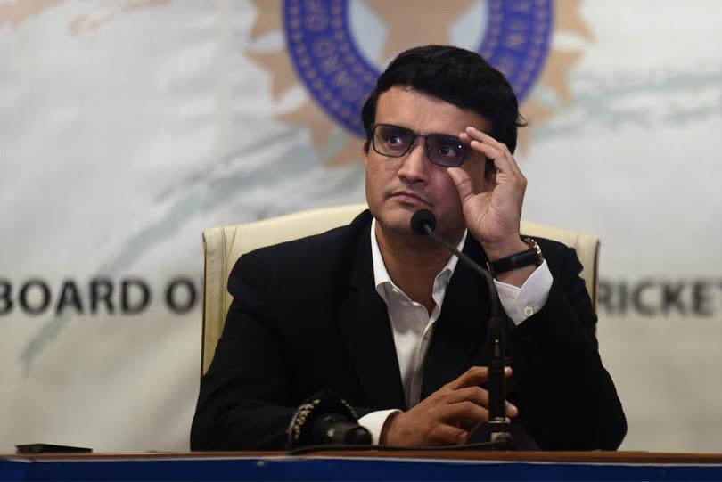 BCCI chief Sourav Ganguly. IPL 2021.