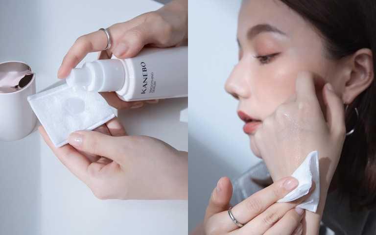 美妍角質美容液100ml/2,200元不黏不膩的類精華膚觸,就算是油肌人也完全沒問題。(圖/IG@kikihsieh)