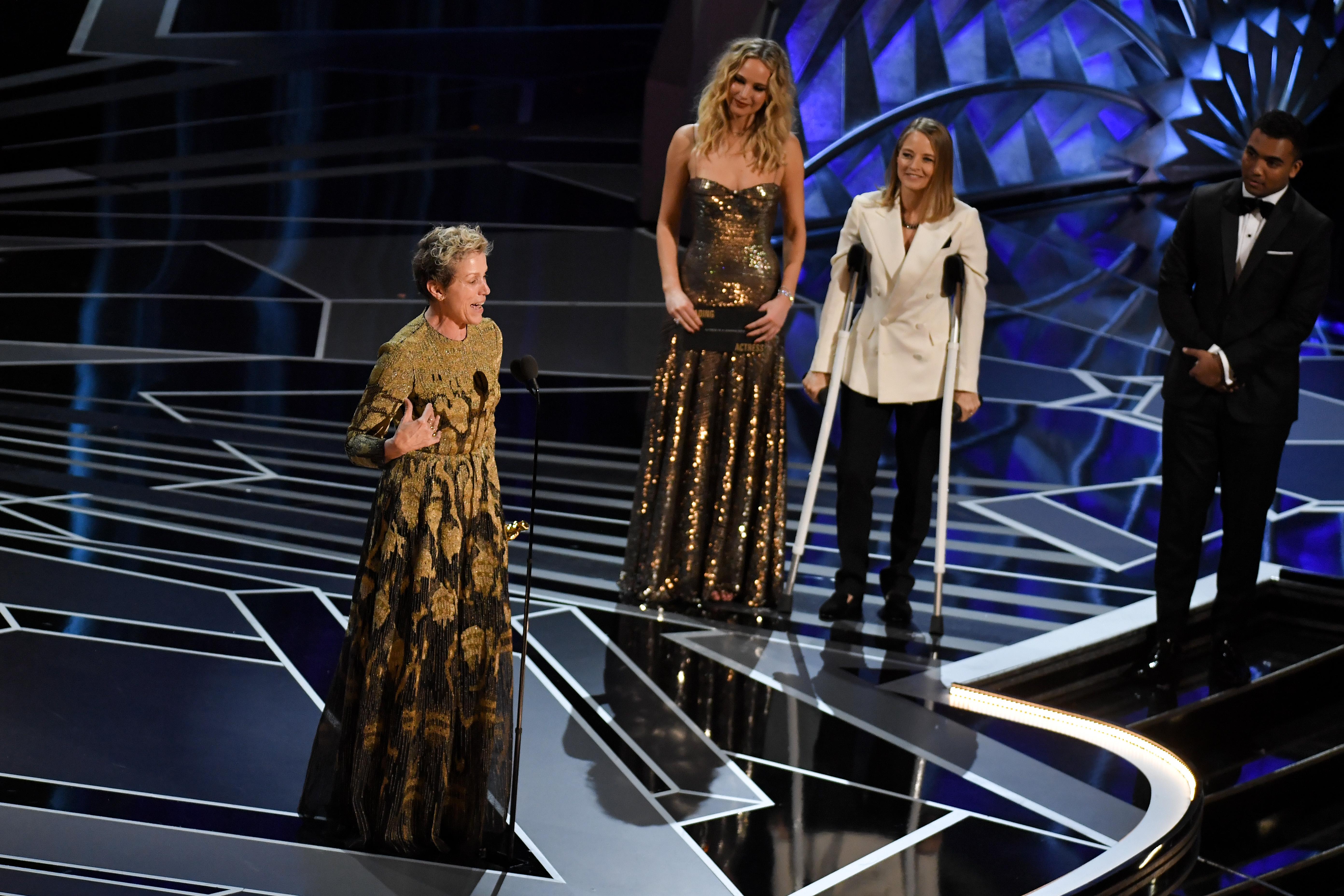 Frances McDormand's Oscar Theft Case Dropped Suddenly By Los Angeles D.A