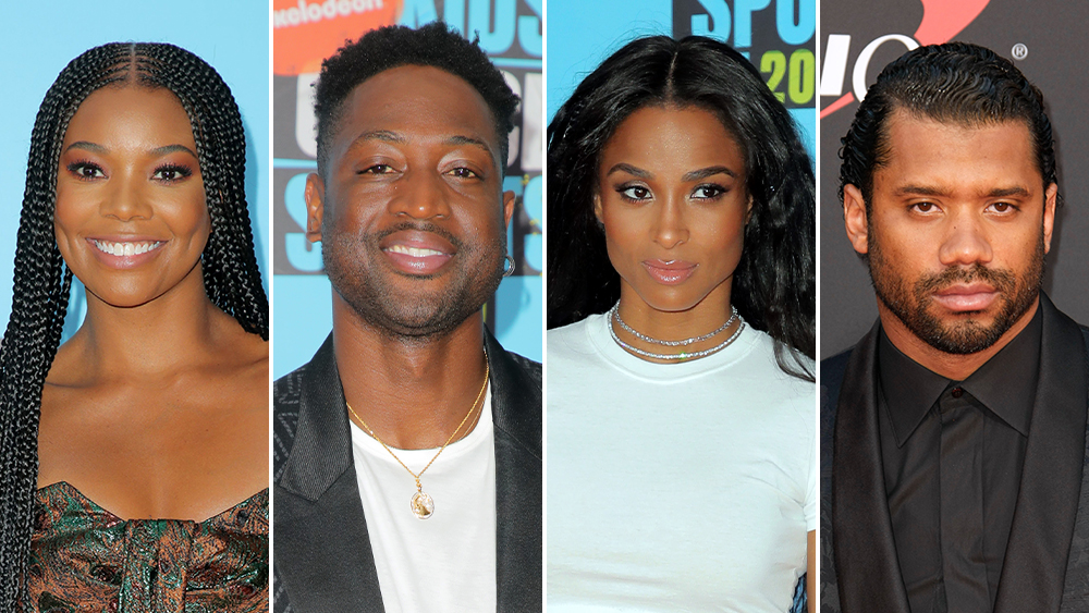 Gabrielle Union  Dwyane Wade, Ciara  Russell Wilson To Turn Ex-NFL Player Vernon Turner's Life Story Into The Film 'Relentless'