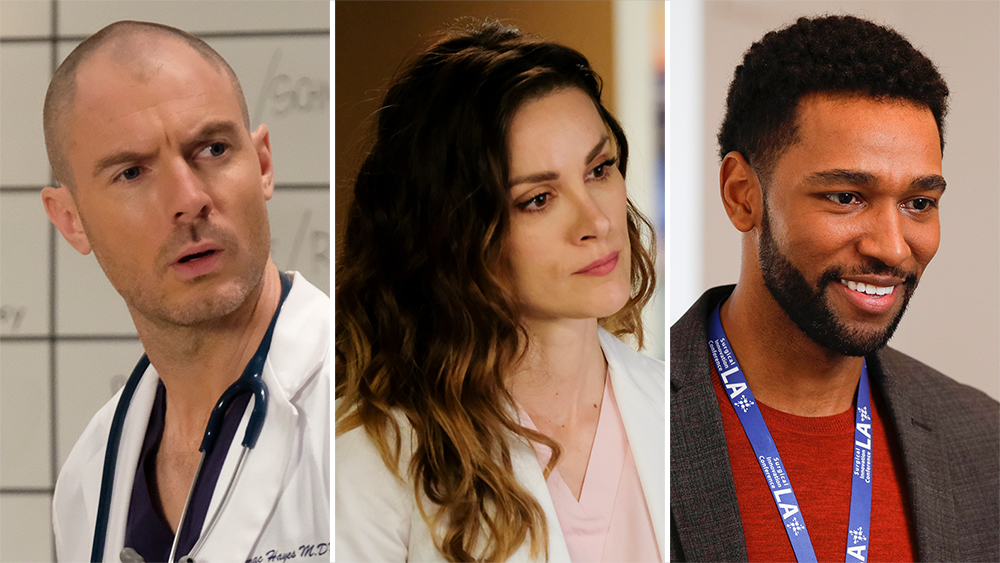 'Grey's Anatomy' Promotes Richard Flood & Anthony Hill To Series Regulars, 'Station 19' Ups Stefania Spampinato