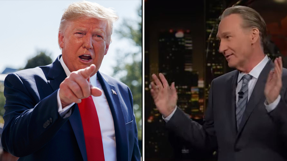 "Donald Trump Watches Bill Maher ""By Accident"", Tweets On ""Sooo Many False Statements"" By ""Wacko"" HBO Host"