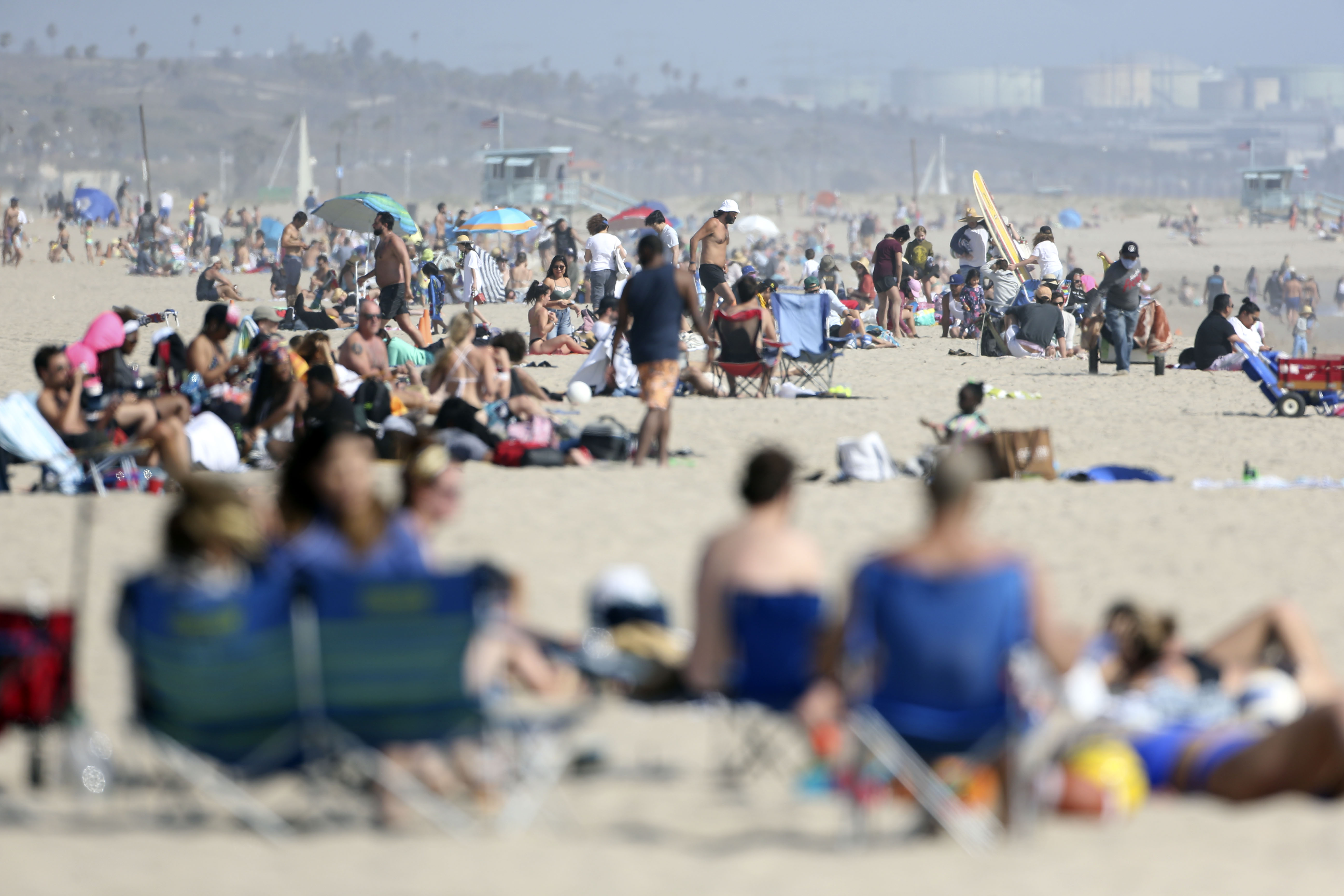 Los Angeles County Beaches Ordered To Close For Fourth Of July Weekend Amid Coronavirus Spike