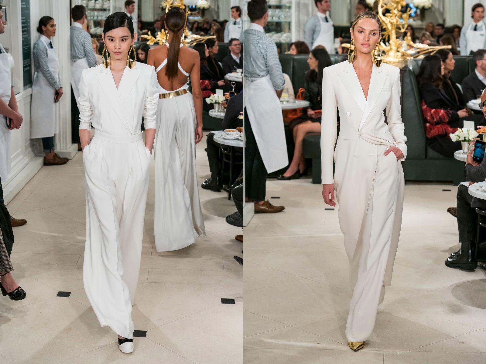 【紐約時裝週】邊喝咖啡邊看秀!Ralph Lauren 秋冬季設計,一窺「紐約貴婦」們的下午茶穿搭!