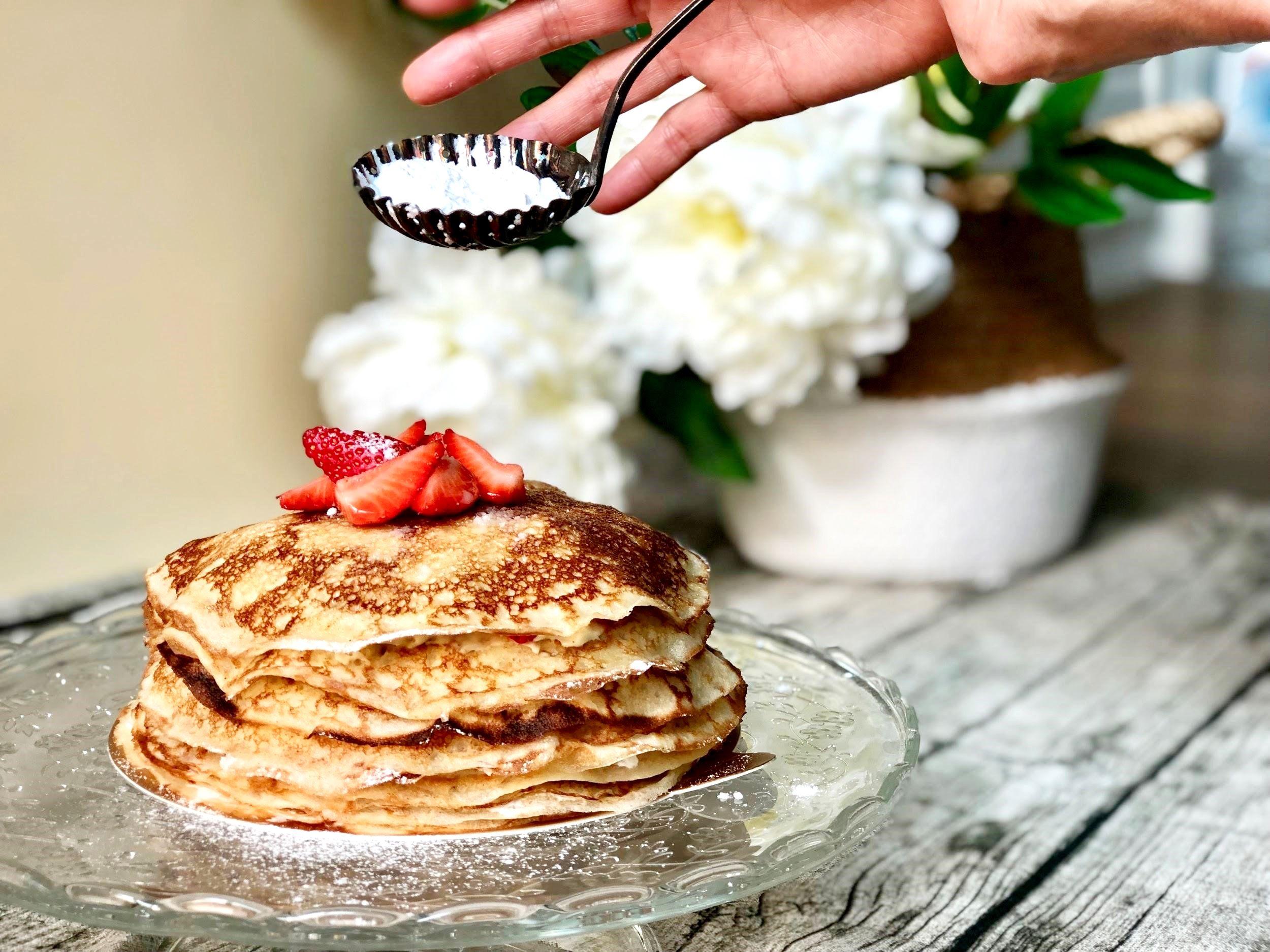 【ELLE網星專欄】不管單不單身吃了都會很甜蜜阿!情人節限定「草莓千層蛋糕」超詳盡食譜教學