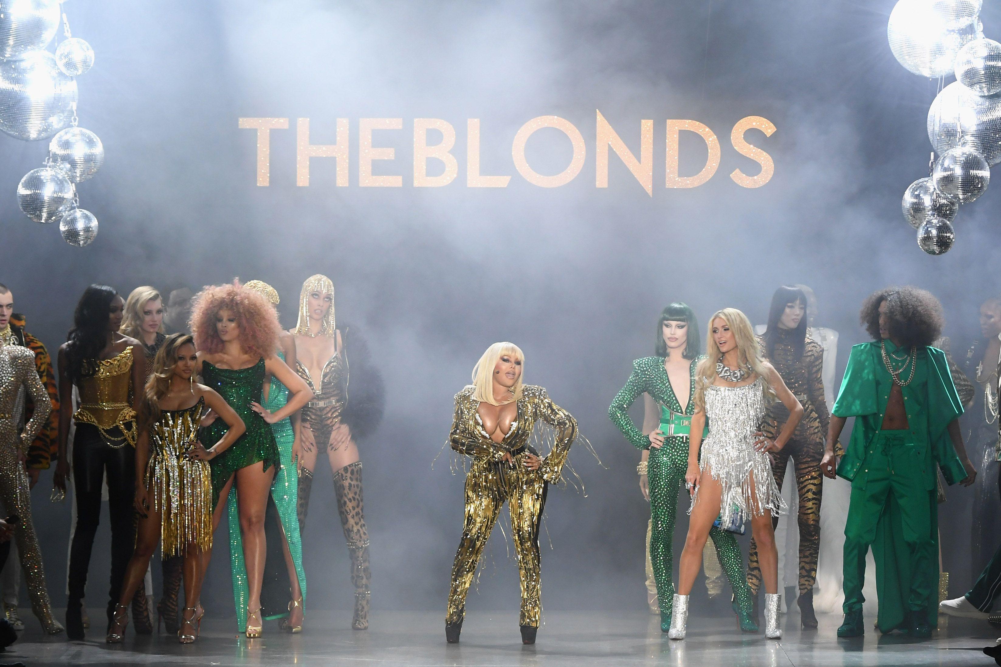 【紐約時裝週】紐約歷年最浮誇 The Blonds 設計師又來搞事情了!這位傳奇饒舌天后也只有這場大秀請得動!