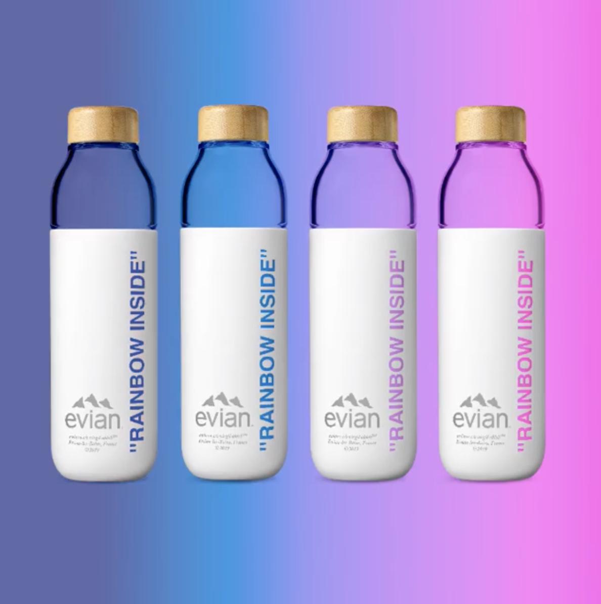 史上最潮 Evian 礦泉水!這位 LV、Off-White 明星設計師的聯名礦泉水「Soma Bottle」開搶囉!