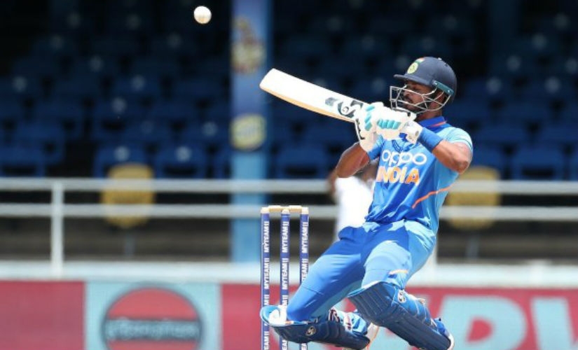 Shreyas Iyer has not played a T20I for India since December 2018. @BCCI