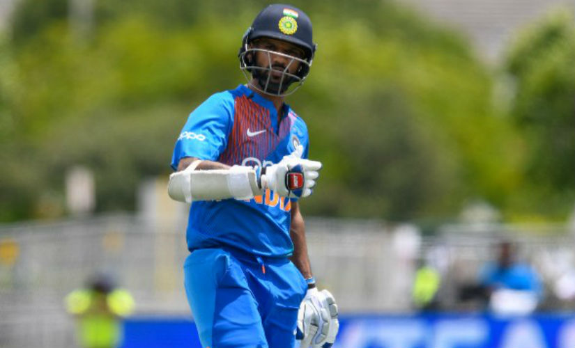 India's Shikhar Dhawan has struggled for form recently since returning from an injury layoff. AFP